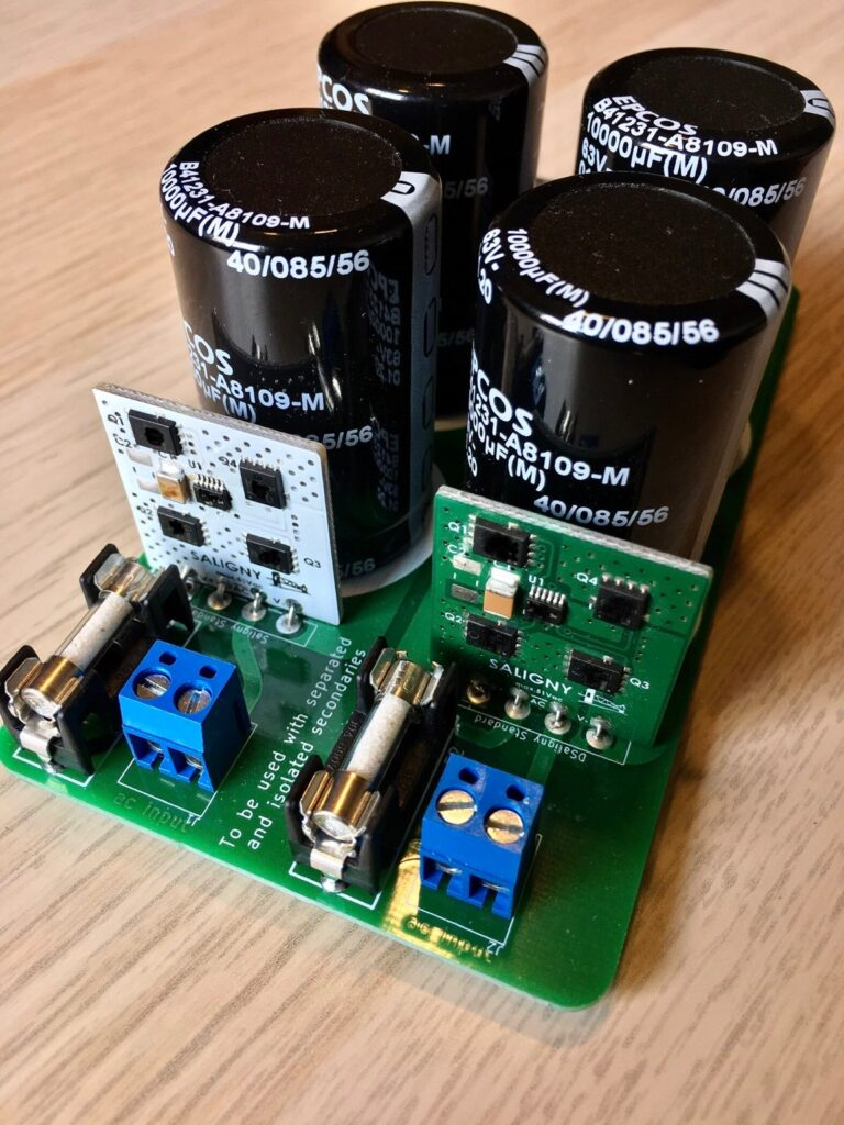 Active rectifier power supply.